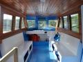 Diving boat interior