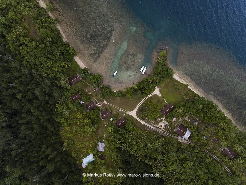 Halmahera, South Halmahera, Northern Molucca, Nord Molukken, Weda Bay Resort,